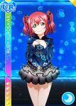 blush character_name green_eyes kurosawa_ruby love_live!_school_idol_festival love_live!_sunshine!! pink_hair shirt short_hair smile