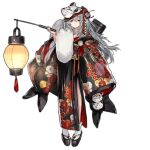 1girl floral_print g11_(girls_frontline) gun_case japanese_clothes nishiro_ryoujin official_alternate_costume solo