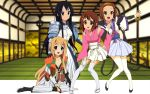 black_hair blonde_hair breasts brown_hair bustier cleavage cosplay detached_sleeves fingerless_gloves flats gloves hakama highres hirasawa_yui japanese_clothes k-on! kataginu kotobuki_tsumugi kusazuri locked_arms long_hair nanjou_ran nanjou_ran_(cosplay) pleated_skirt rance_(series) sandals sengoku_rance short_hair sill_plain sill_plain_(cosplay) skirt smile sode tabi tainaka_ritsu thigh-highs thighhighs uesugi_kenshin uesugi_kenshin_(cosplay) uesugi_kenshin_(rance) uesugi_kenshin_(rance)_(cosplay) wallpaper yamamoto_isoroku yamamoto_isoroku_(cosplay) yamamoto_isoroku_(rance) yamamoto_isoroku_(rance)_(cosplay) zettai_ryouiki