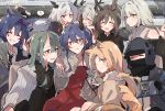 ! 1other 6+girls alina_(arknights) amiya_(arknights) animal_ear_fluff animal_ears arknights black_gloves black_hair black_neckwear black_shirt blaze_(arknights) blonde_hair book bow bowtie brooch brown_hair cat_ears cellphone ch'en_(arknights) closed_eyes closed_mouth collared_shirt commentary_request deer_antlers doctor_(arknights) dragon_horns dress eyebrows_visible_through_hair fingerless_gloves gloves green_eyes green_hair grey_eyes grey_hair grin hair_ribbon hairband hand_on_own_face hand_up highres holding holding_book holding_phone hood hood_up hooded_coat horns hoshiguma_(arknights) jacket jewelry kal'tsit_(arknights) kyou_039 light_particles lin_yuhsia_(arknights) long_hair long_sleeves medium_hair multiple_girls necktie oni_horns orange_hair parted_lips phone pinstripe_pattern priestess_(arknights) rabbit_ears red_dress red_eyes red_hairband ribbon rosmontis_(arknights) scar scar_on_face shirt single_horn smartphone smile spoilers spoken_exclamation_mark stole striped sweatdrop swire_(arknights) talulah_(arknights) tearing_up tears v white_jacket white_shirt