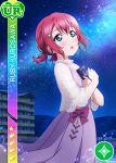 blush character_name dress green_eyes kurosawa_ruby love_live!_school_idol_festival love_live!_sunshine!! pink_hair short_hair