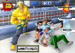 absurdres anime fangame fanime fighting fighting_game games ganbatte_karate highres huge_filesize indiegames karate original_characters pocket pocketgame