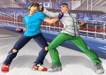 anime fangame fanime fighting fighting_game games ganbatte_karate highres indiegames karate original_characters pocket pocketgame