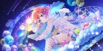 blush dress green_eyes kurosawa_ruby love_live!_school_idol_festival_all_stars pink_hair short_hair