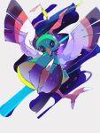 beak bird black_eyes commentary_request droplet from_below gen_2_pokemon highres looking_at_viewer no_humans pokemon pokemon_(creature) solo talons urai_(424_ovo) xatu