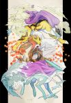 autumn_leaves claws closed_mouth commentary_request entei fangs gen_2_pokemon highres legendary_pokemon letterboxed ngr_(nnn204204) no_humans open_mouth orange_eyes outside_border pokemon pokemon_(creature) raikou smoke suicune toes tongue tusks water