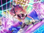 bang_dream! blue_eyes blush chu2_(bang_dream!) long_hair pink_hair smile swimsuit twintails