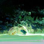 1boy bent_over cat from_side highres leaf original rain shirt short_hair sitting solo transparent umbrella white_shirt xian_xiao_jiu