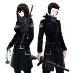 (girls' absurdres ar-10 battle_rifle frontline) girls_frontline gun highres m4a4 rifle weapon