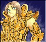 aries_mu armor brown_hair cloth golden horns knights_of_the_zodiac male ram_horns saint_seiya