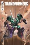aircraft airplane autobot bumblebee clenched_hands comic_cover copyright_name cover cover_page decepticon fighter_jet helicopter highres jet looking_down mecha military military_vehicle no_humans official_art science_fiction sixshot solo the_transformers_(idw) transformers violet_eyes zeromayhem