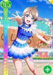 blue_eyes blush character_name dress grey_hair love_live!_school_idol_festival love_live!_sunshine!! short_hair smile watanabe_you