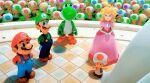 3d animated_gif mario princess_peach toad_(mario) yoshi