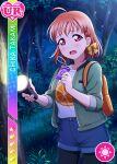 character_name dress love_live!_school_idol_festival love_live!_sunshine!! orange_hair red_eyes short_hair takami_chika