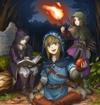 3boys bangs blue_eyes blush brown_hair cape dragon_quest dragon_quest_xi earrings fire fire_emblem fire_emblem_awakening gloves hero_(dq11) hood jewelry link long_hair long_sleeves looking_at_viewer male_focus manakete multiple_boys open_mouth pointy_ears robe robin_(fire_emblem) robin_(fire_emblem)_(male) sayoyonsayoyo short_hair smile spiky_hair super_smash_bros. the_legend_of_zelda the_legend_of_zelda:_breath_of_the_wild white_hair