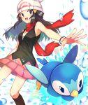 dawn_(pokemon) highres piplup pokemon pokemon_(game) pokemon_dppt spece_ponta