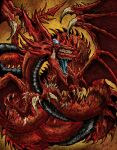 blue_tongue colored_tongue dragon duel_monster highres no_humans open_mouth osiris_the_sky_dragon tagme teeth wings wretchedspawn2012 yellow_eyes yu-gi-oh!