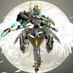 3d dennou_senki_virtual-on no_humans robot virtual_on