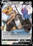 1boy 2others :d beard blue_eyes brown_hair brown_jacket butterfree choker denim dragonite earrings facial_hair holding holding_microphone jacket jeans jewelry leather leather_jacket looking_at_viewer mature_male microphone multiple_others music one_knee open_mouth pants pokemon pokemon_(creature) pokemon_card pokemon_tcg post_malone saito_naoki shiny shiny_clothes shirt singing smile tattoo teeth thick_eyebrows trading_card white_shirt