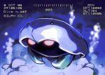 air_bubble blurry bubble claws commentary_request full_body kabuto_(pokemon) no_humans pokemon pokemon_(creature) prassio shiny solo timestamp underwater