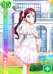 brown_eyes character_name dress idolmaster idolmaster_side-m long_hair ponytail redhead sakurauchi_riko smile
