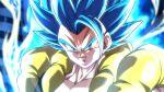1boy aura blue_eyes blue_hair closed_mouth dragon_ball dragon_ball_super gogeta male_focus metamoran_vest rom_(20) serious solo spiky_hair super_saiyan super_saiyan_blue super_saiyan_blue_evolved upper_body