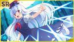 blue_eyes blue_hair dress kamishirasawa_keine long_hair smile touhou_danmaku_kagura