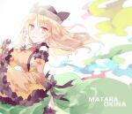 1girl character_name highres kyuutame matara_okina solo touhou
