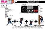 buttons controller game katana male nes nes_controller ninja ninja_gaiden ninja_ryukenden nintendo old_school oldschool pad retro ryu_hayabusa sword tecmo