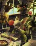 final_fantasy final_fantasy_tactics flower moogle plants purple_kecleon