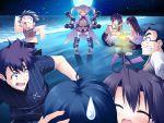 game_cg gun hiiragi_chiyoko kiss_x_demon_lord_x_darjeeling sasorigatame thigh-highs weapon