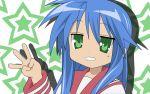 1girl izumi_konata lucky_star stars tagme