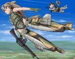 f-4_phantom f-4_phantom_ii flying gloves gun hat mecha_musume mig-17 original rifle striker_unit striker_units takanaga_kouhei vietnam weapon
