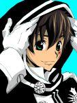 brown_hair code_geass d.gray-man green_eyes kanda_yuu kururugi_suzaku sakurai_takahiro seiyuu_joke