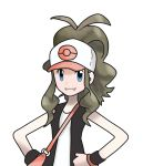 blue_eyes brown_hair hat nintendo pokemon pokemon_black_and_white touko_(pokemon)