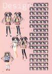 amano_hanei character_design korie_riko makura seifuku supreme_candy thigh-highs