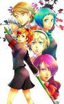 aegis female_protagonist_(p3) kirijou_mitsuru mecha_musume megaten persona persona_3 seifuku takeba_yukari yamagishi_fuuka