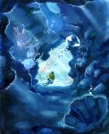 cave clamperl corsola horsea luvdisc nature no_humans pokemon pokemon_(game) pokemon_gsc pokemon_rgby pokemon_rse shellder squirtle sunlight swimming underwater yorozuyo