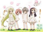 chiriri hororo kururu mary_janes oboro oboro_(bottle_fairy) sarara shoes