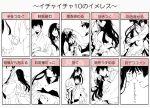 hetalia_axis_powers japan monochrome taiwan todoroki_sora