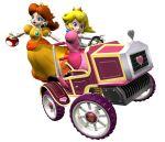 mario_kart princess_daisy princess_peach super_mario_bros. tagme