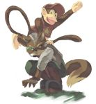 fox_mccloud furry gloves green_eyes hat nintendo smile star_fox super_smash_bros. tail