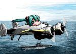aircraft_carrier airplane grumman_xf5f hatsune_miku military rxjx us_navy vocaloid wink