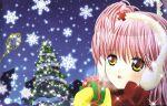 christmas earmuffs hinamori_amu shugo_chara! tagme watermark