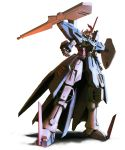 gun gundam gundam_wing gundam_wing_dual_story:_g-unit highres hydra_gundam mecha shield simple_background solo tori_yuhu weapon