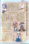 ayase_aya chibi kagihime_monogatari_eikyuu_alice_rondo kirihara_kiraha kirisaki_risa toukouin_touko