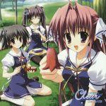 clear disc_cover inagaki_miiko mitha moonstone okamoto_nonoka seifuku tsukimura_miki yukino_natsuki