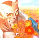 blush dabura demon dragon_ball dragon_ball_z fabulous flower heaven raptor_(artist) solo sparkle