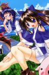 chikage crease fujishiro_takeshi nagasarete_airantou suzu thigh-highs tonkatsu