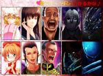 alien_(movie) bad_id bennett_(commando) cardcaptor_sakura character_request commando_(film) crow_(pixiv) edo_tatsuki face freddy_krueger friday_the_13th fuuin_no_tsue gihren_zabi gundam gundam_08th_ms_team hitsuji_no_uta jason_voorhees kinomoto_sakura magical_girl mobile_suit_gundam predator predator_(film) takashiro_chizuna topp touhou xenomorph yakumo_ran